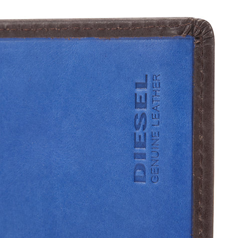 Buy Diesel Fresh & Bright Letpass Leather Wallet, Brown Online at johnlewis.com