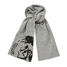 Buy Diesel Dub Graphic Scarf Online at johnlewis.com