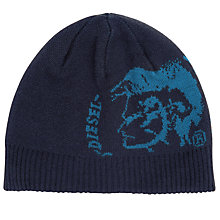 Buy Diesel K-Grafi Beanie Hat, One Size Online at johnlewis.com