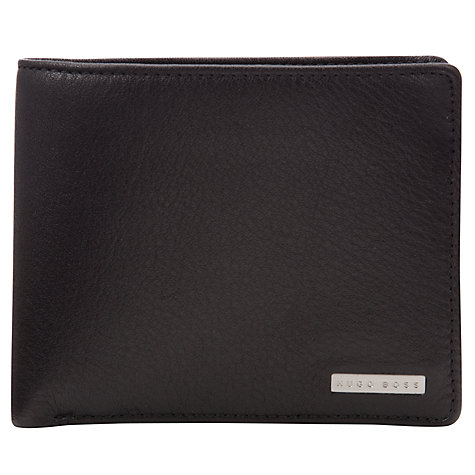 Buy Hugo Boss Classic Billfold Wallet, Black Online at johnlewis.com