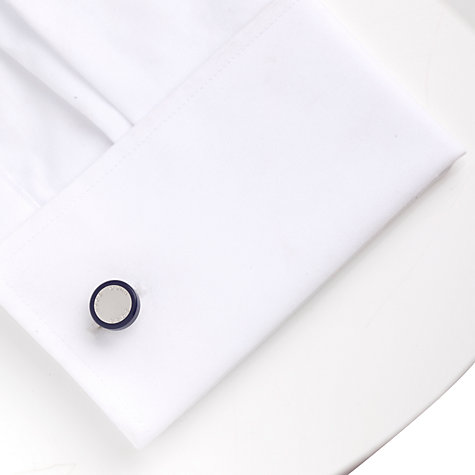 Buy Hugo Boss Jannik Cufflinks, Purple Online at johnlewis.com