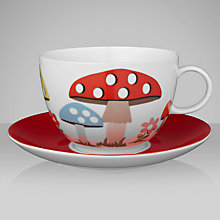 Buy Cath Kidston Mushroom Teacup and Saucer Online at johnlewis.com