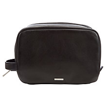 Buy Hugo Boss Bombo Wash Bag, Black Online at johnlewis.com