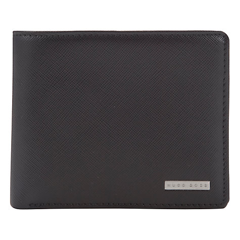 Buy Hugo Boss Wallet and Card Holder Set, Black Online at johnlewis.com