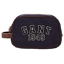 Buy Gant 1949 Canvas Wash Bag, Navy Online at johnlewis.com