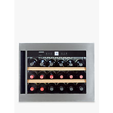 Buy Liebherr WKEES553 Integrated Wine Cooler Online at johnlewis.com