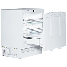 Buy Liebherr UIK1550 Integrated Built Under Larder Fridge, A++ Energy Rating, 60cm Wide, White Online at johnlewis.com