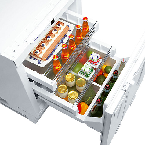 Buy Liebherr UIK1550 Integrated Undercounter Larder Fridge, A++ Energy Rating, 60cm Wide, White Online at johnlewis.com