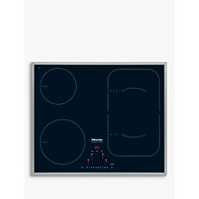 Buy Miele KM6322 Induction Hob, Black Online at johnlewis.com