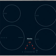 Buy Miele KM6321 Ceramic Induction Hob, Black Online at johnlewis.com