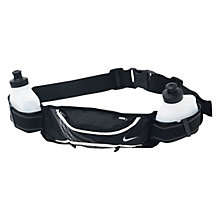 Buy Nike Lightweight Hydrate 2 Bottle Belt Online at johnlewis.com