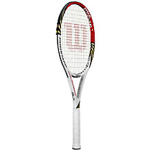 Buy Wilson Pro Staff 100L Tennis Racket Online at johnlewis.com
