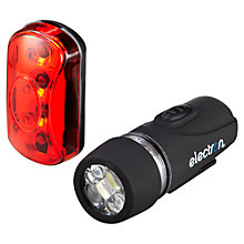 Buy Electron Nano Front and Rear Cycle Lights Online at johnlewis.com