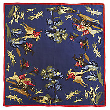 Buy Joules Clarence Silk Scarf, Heritage Online at johnlewis.com