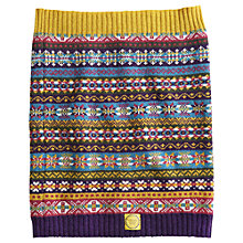 Buy Joules Cailin Fairisle Snood, Multi Online at johnlewis.com