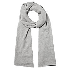 Buy Somerset by Alice Temperley Cashmere Travel Wrap, Light Grey Online at johnlewis.com