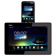 Buy ASUS PadFone 2 Phone and PadFone 2 Station Tablet Dock, 32GB, 4G capable, SIM Free, Black Online at johnlewis.com