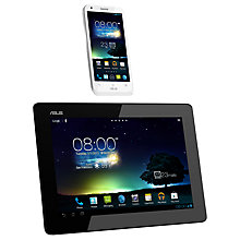 Buy ASUS PadFone 2 Phone and PadFone 2 Station Tablet Dock, 32GB, 4G capable, SIM Free, White Online at johnlewis.com