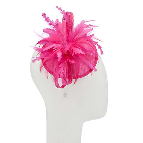 Buy John Lewis Sinamay Loop Disc Fascinator Online at johnlewis.com