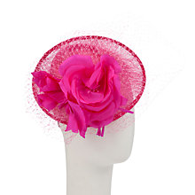 Buy Walter Wright Kiko Disc Hat, Fucshia Online at johnlewis.com