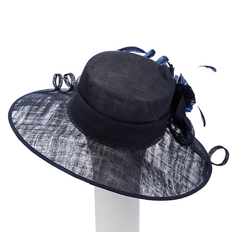Buy John Lewis Alex Sinamay Asymmetric Occasion Hat Online at johnlewis.com