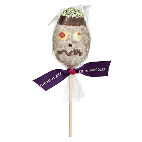 Buy James Chocolates Spooky Chocolate Face On Stick, 60g, Assorted Online at johnlewis.com