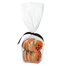 Buy Image on Food Mini Halloween Pumpkin Biscuits, Set of 8 Online at johnlewis.com