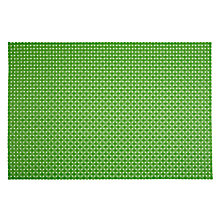 Buy House by John Lewis Woven Placemat, L32 x W45cm, Green Online at johnlewis.com