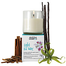 Buy AVEDA New Light The Way Candle™ 2013, 100g Online at johnlewis.com