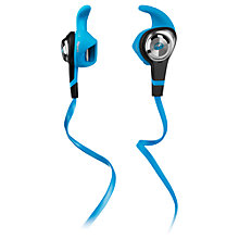 Buy Monster iSport Strive In-Ear Headphones with ControlTalk, Blue Online at johnlewis.com
