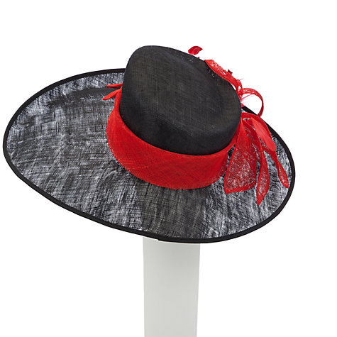 Buy John Lewis Mila Upturned Wide Brim Occasion Hat Online at johnlewis.com
