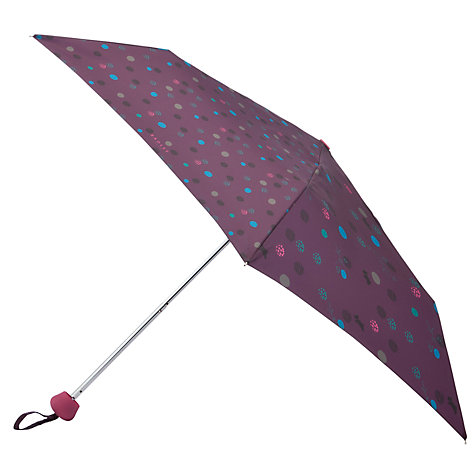 Buy Radley On The Dot Walking Umbrella, Purple Online at johnlewis.com