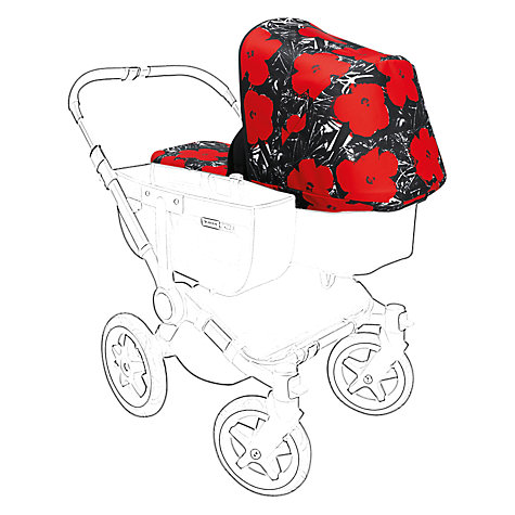 Buy Bugaboo Donkey Andy Warhol Tailored Fabric Set, Flowers Online at johnlewis.com
