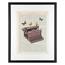 Buy Marion McConaghie - Typewriter Framed Print, 54 x 44cm Online at johnlewis.com
