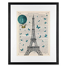 Buy Marion McConaghie - Eiffel Tower Framed Print, 54 x 44cm Online at johnlewis.com