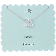 Buy Little Ella Nelly Silver-Plated Necklace Online at johnlewis.com