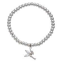 Buy Little Ella Lexi Fairy Charm Silver-Plated Bracelet Online at johnlewis.com