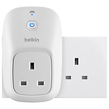 Buy Belkin WeMo Switch Home Automation System Online at johnlewis.com