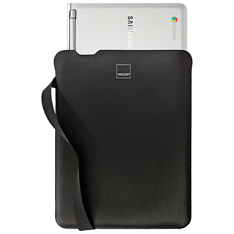 "Buy Acme Made Bay Street Sleeve for Chromebooks, 11-12"", Black Online at johnlewis.com"