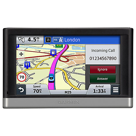 Buy Garmin nüvi 2567LM GPS Navigation System, Free Lifetime Europe Maps Online at johnlewis.com