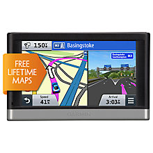 Buy Garmin nüvi 2597LM GPS Navigation System, Free Lifetime Europe Maps Online at johnlewis.com