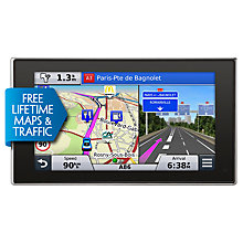 Buy Garmin nüvi 3597LMT GPS Navigation System, Free Lifetime Europe Maps and Traffic Alerts Online at johnlewis.com