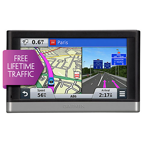 Buy Garmin nüvi 2577LT GPS Navigation System, EU and North American Maps Online at johnlewis.com