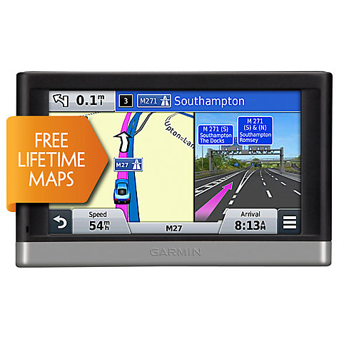 Buy Garmin nüvi 2447LM GPS Navigation System, Free Lifetime Europe Maps Online at johnlewis.com