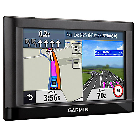 Buy Garmin nüvi 52LM GPS Navigation System, Free Lifetime UK and Ireland Maps Online at johnlewis.com