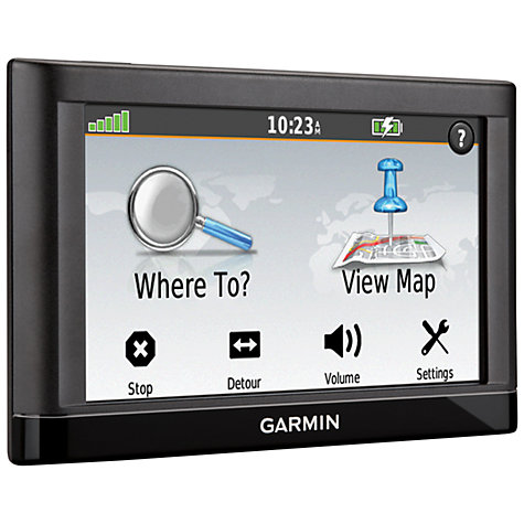 Buy Garmin nüvi 52LM GPS Navigation System, Free Lifetime UK Maps Online at johnlewis.com