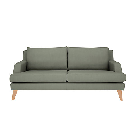 Buy John Lewis Buzz Medium Sofa, Porto Blue Grey Online at johnlewis.com