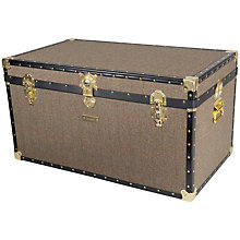 Buy John Lewis Harris Tweed 227L Traditional Cabin Trunk Online at johnlewis.com