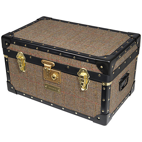 Buy John Lewis Harris Tweed 47L Traditional Tuck Box Online at johnlewis.com