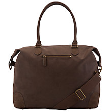 Buy John Lewis Cambridge Leather Medium Explorer Bag, Brown Online at johnlewis.com